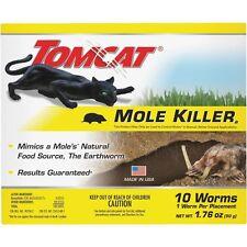 10-Pack Tomcat Worm-Shaped Mole Killer Bait Formula