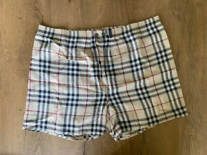 burberry cotton shorts