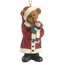 1299 - Boyds Bearstone Ornament - Kringle Klausbeary - 2014 - #4041894 - New