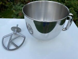 Large Kenwood Chef Stainless Steel Mixing Bowl and K Beater for all K Mix