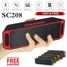 Altavoz Portátil Bluetooth Estéreo Inalámbrico Exterior Impermeable USB/TF/XXX FM