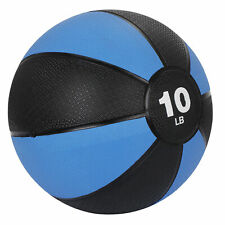 Fitness Weighted Medicine 10lb Exercise Ball Balance Home Sport Gym