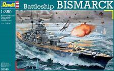 REVELL 05040 - 1/350 DEUTSCHES SCHLACHTSCHIFF BISMARCK / BATTLESHIP BISMARCK