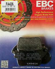 CBR1000 ABS FIREBLADE 2009-2018 EBC BRAKE PADS FA436