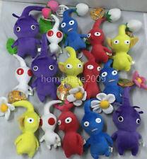 Set of 15PCS Game Plush Pikmin Plush Leaf/Bud/ Flower Stuffed plush NEW lovely