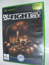 Def Jam Fight For NY Original Xbox Game PAL