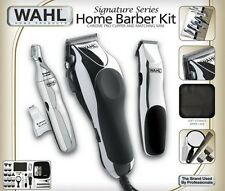 New Wahl 30 Piece Hair Cut Home Barber Kit Trimmer Clipper Free Shipping