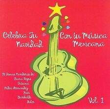 Celebra Tu Navidad: Con Tu Musica Mexicana by Various (CD, Dec-2006) NEW Sealed