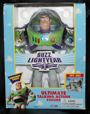 Toy Story Buzz Lightyear Ultimate Talking Action Figure Think Way Free Shipping