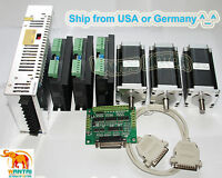3 axis Nema23 stepper motor 428oz-in. Dual Shafts CNC Engrave, Mill controller