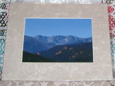 PHOTO ART PONDER POINT ARAPAHO NAT FOREST CO 5X7 MATTED 8X10 SIGNED #21/75