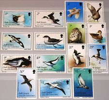 SOUTH GEORGIA 1987 150-64 109-23 Definitives Birds Vögel Fauna Freimarken MNH
