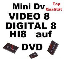 Video8,HI8 auf DVD DIGITALISIEREN ÜBERSPIELEN KOPIEREN Digital 8  Camcorder