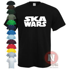 SKA WARS reggae dub step club music dance t-shirt