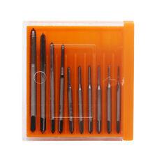 10pcs M1-M3.5 Hand Screw Machine Thread Metric Tap Clock Tapping Drill Bit Tools