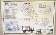 RARE - Scale Structures Ltd - HO Scale -  #7113 Autocar  Stake Body Truck