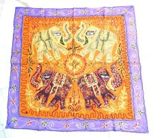 HAND MADE GYPSY BANJARA  EMBROIDERY PATCH WORK WALL HANGING TABLE RUNNER THROW