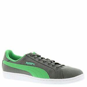 PUMA Men's Smash Ripstop Classic Fashion Sneaker, Grey/Green