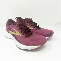 Brooks Womens Launch 6 1202851B553 Purple Running Shoes Lace Up Low Top Sz 8.5 B