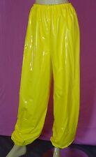 pyjama jogginghose giallo adult neu L pvc plastic NEU Diargh