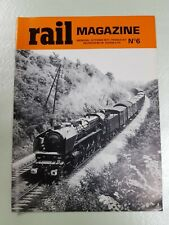 Rail Magazine – N° 6 – octobre 1977