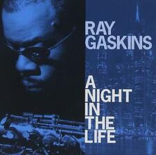 RAY GASKINS A Night In The Life NEW & SEALED SOUL JAZZ CD (EXPANSION)  ROY AYERS