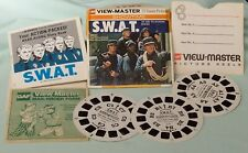 Early Viewmaster Reels Swat with Booklet Sleeve & Order Form c1975 T.V Series