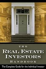 REAL ESTATE INVESTORS HANDBOOK COMPLETE GUIDE FOR INDIVIDUAL By Fisher Steven D
