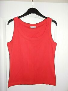 NWOT Ladies Red Vest Top From Atmosphere in size 16-18