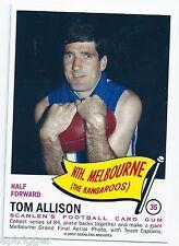 1966 Scanlens Archives Flag Series (35) Tom ALLISON North Melbourne ****