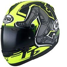 Motorrad Arai / Farbe: Schwarzmatt/Gelbmatt Gr: XL (61)