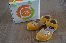 Livie and Luca Girls Petal Marigold Suede Shoes Size 12 NIB