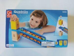 Quadrilla Sonic Playground - Hape *Sealed* NIB Marble Run Construction E6022