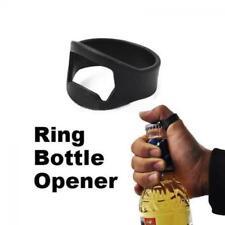 2pcs Convenient Bar Tool Metal Stainless Steel Finger Ring Beer Bottle Opener
