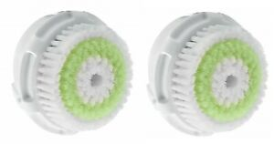 2  Replacement Brush Head Acne Compatible with Clarisonic Mia 1 2 3
