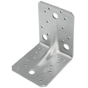 Schwerlast Winkelverbinder 25 St. 105 x 105 x 90 x 3 Winkel Sicke Rippe CE + ETA