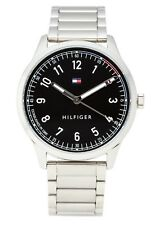 Tommy Hilfiger Men's Metallic Silver-tone Watch 1791402 $105