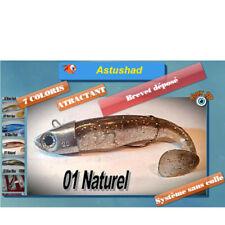 COMBO ASTUSHAD NATUREL NATURAL shad souple anti accroche texan