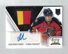 Aleksander Barkov 13-14 Panini Anthology LUXURY SUITE ROOKIE AUTO PATCH /25
