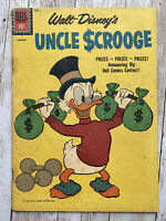 Uncle Scrooge #34 Dell Disney Comic