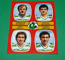 N°442 BATHENAY BRUSSEAU RENAUT SABATIER SETE D2 PANINI FOOTBALL 87 1986-1987
