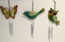 Glass Owl Garden Ornaments