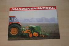 162866) Amazone Rüttelegge mit Packerwalze Prospekt 07/1980