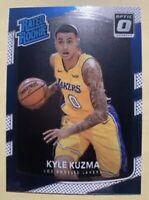 2017-18 Panini Optic KYLE KUZMA Rated Rookie Lakers RC #174