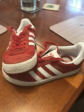 Kids Adidas Gazelle Trainers Size 13 1/2