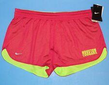 Nike HOUSTON COUGARS Womens Dri-Fit Hero Mesh Shorts Size M Pink Athletic NWT