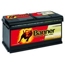 BANNER Running Bull AGM Autobatterie 12V 92AH ersetzt 95Ah Audi BMW VW Mercedes