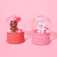Korea LINE FRIENDS Brown Cony Love Heart Balloon Water Ball Mascot Gift
