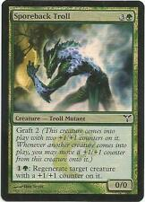 1x Foil - Sporeback Troll - Magic the Gathering MTG Dissension