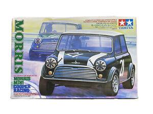 tamiya morris mini cooper racing plastic model  1/24